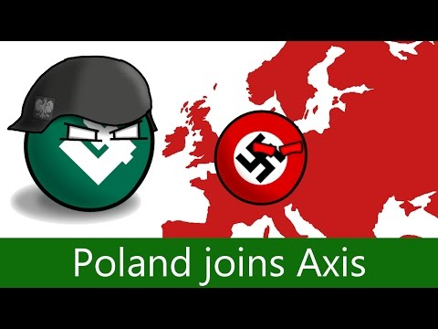 Alternate History of WW2 - Poland joins Axis.