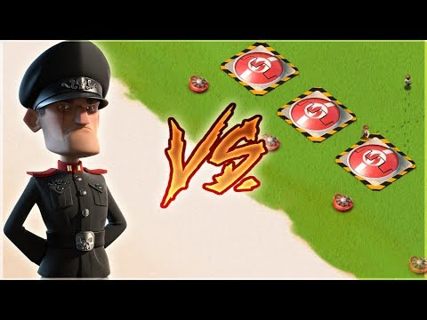 Boom Beach 3 MAX HOT POTS vs Defending Hammerman!!