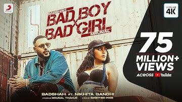 Badshah – Bad Boy x Bad Girl (Official Video) | Mrunal Thakur | Nikhita Gandhi | Trending Song 2021