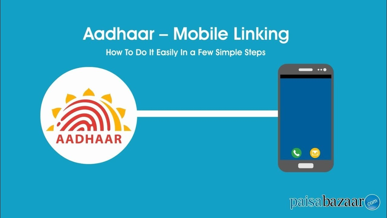 How to Link Aadhar with Mobile Number Online/OTP - Paisabazaar