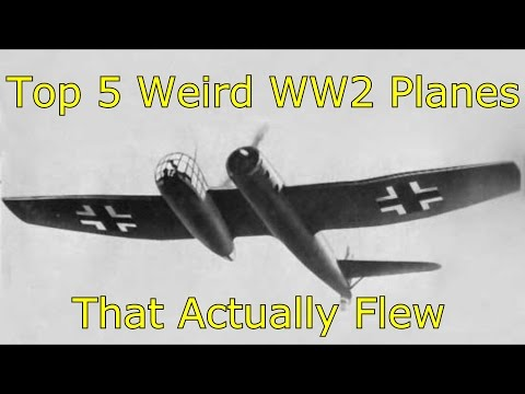 Top 5 Weird WW2 Planes That Actually Flew