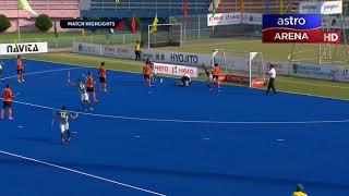 Malaysia 3-2 Pakistan   Super 4s   Hoki Piala Asia 2017    Astro Arena