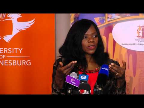 Adv Thuli Madonsela speaks at the 2nd UJ Young African Leaders Forum