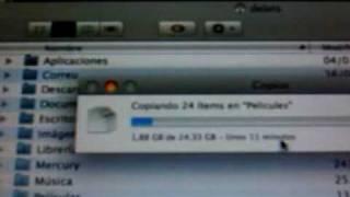 Estrenando G-Drive 1 Tb Fw800 7200rpm 32Mb cache