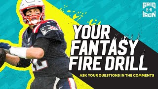 "NFL Week 11 Fantasy Football Advice | ""Your Fantasy Fire Drill"""