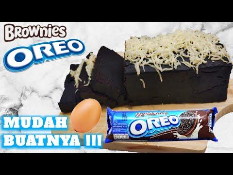 brownies-oreo-|super-lembut-|-murah-#viral-#oreo-#browniesoreo-#boluoreo-#duabahan-#dirumahaja