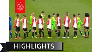 Highlights Ajax B1 - Feyenoord B1