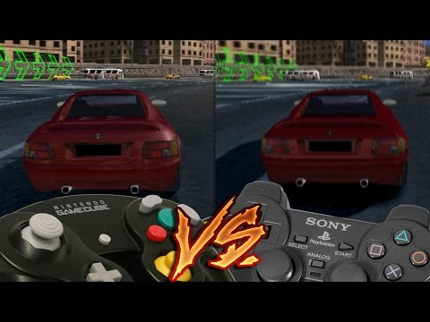 GameCube Vs PlayStation 2 - Burnout