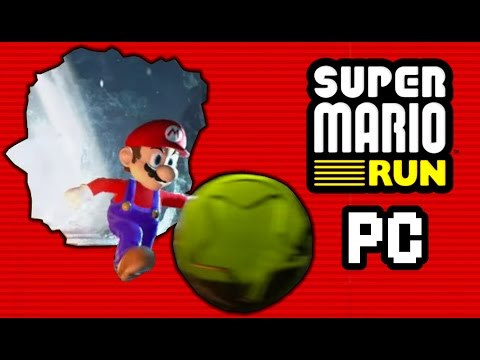 SUPER MARIO RUN PC IS TERRIBLE!!