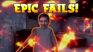 Granny Epic fails  | Funny Moments  | ScrewySparK
