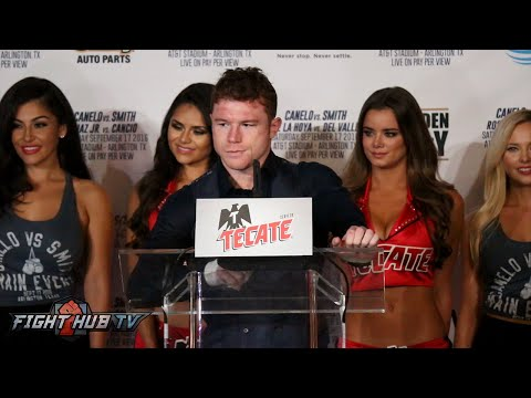 The Full Canelo Alvarez vs. Liam Smith Post Fight Press Conference video