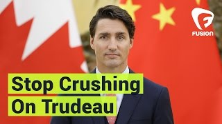 Stop Crushing on Justin Trudeau