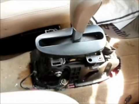 2006 Impala shifter problems - YouTube