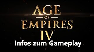 Wichtige News zu Age of Empires IV | erstes Gameplay [Infovideo/Deutsch]