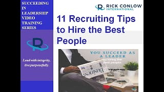 Recruiting and hiring winners your success as a manager is often linked to how well you recruit hire. unfortunately, not all managers have complete contr...