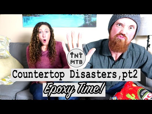 Countertop Disasters   Road to Recovery!
