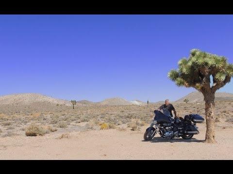 Mojave Desert Motorcycle Ride: Panamint Springs to Lone Pine, California