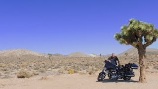 Mojave Desert Motorcycle Ride: Panamint Springs to Lone Pine, California