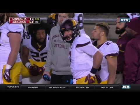 Minnesota at Wisconsin - Football Highlights