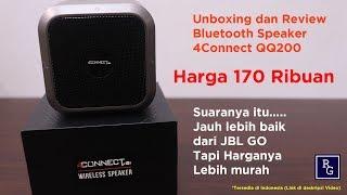 Bluetooth speaker murah tapi apakah lebih baik dari JBL GO ???- 4Connect QQ200