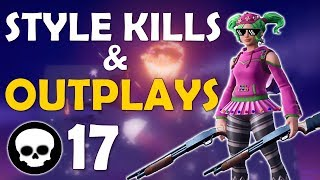 STYLE KILLS & OUTPLAYS | DOUBLE PUMP | HIGH KILL FUNNY GAME - (Fortnite Battle Royale)
