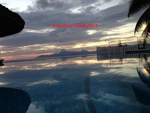 A WEEK IN TAHITI 2014
