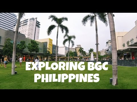 FOOD TOUR of BONIFACIO GlOBAL CITY, PHILIPPINES