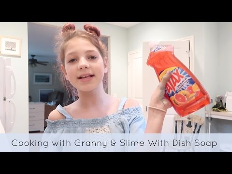 how-to-make-slime-without-glue-|-cooking-with-granny