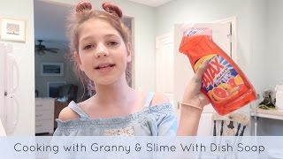 One of Annie's Vlogs's most viewed videos: How to Make Slime without glue | Cooking with granny