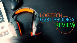 logitech G231 Prodigy Review  Mic Test  Setup  PS4  Xbox One  Gaming Headset