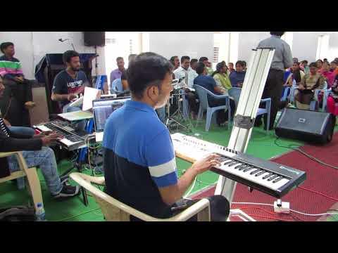 Practice session of Manna International Music Festivals Hubli 6 to 8 oct 2017