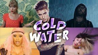 C0LD WATER – Zayn · E.Sheeran · N.Minaj · A.Grande  (The Megamix) T10MO