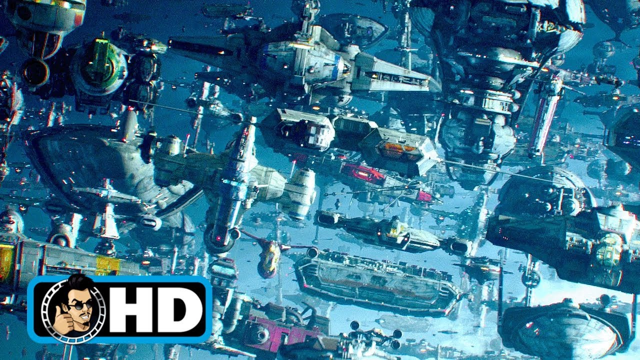 Lando S Fleet Arrives Star Wars Rise Of Skywalker Movie Clip 2019 Hd Youtube