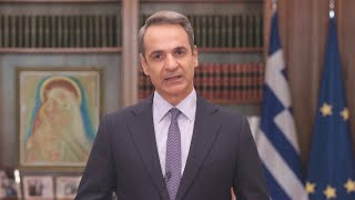 Greek PM Kyriakos Mitsotakis hits out at Hagia Sophia becoming a mosque again