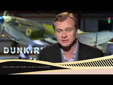 Chris Nolan for Dunkirk: Movies can change people