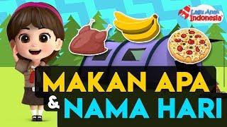 Kompilasi Lagu Anak - Nama Hari - Lagu Anak Indonesia - Nursery Rhymes  - جزء من أغنية اليوم