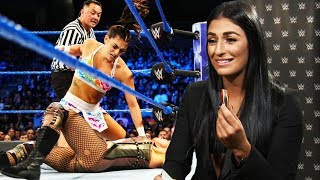 WWE EXCLUSIVE! Sonya Deville on coming out on national TV