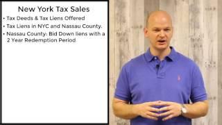 New York Tax Sales - Tax Liens & Tax Deeds