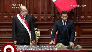 Juramento de Ollanta Humala en HD