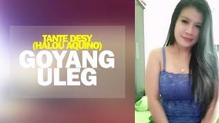 Tante Desy (Halou Aquino) Goyang Uleg di Bigo Live