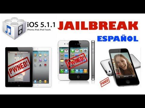 IOS 5.1.1 JAILBREAK  FÁCIL IPhone/iPad/iPod TODOS Español