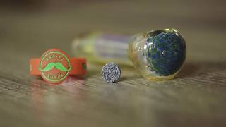 ELEV8 Presents   The Flavor Disc Concentrate Pipe from 7th Floor Vapes