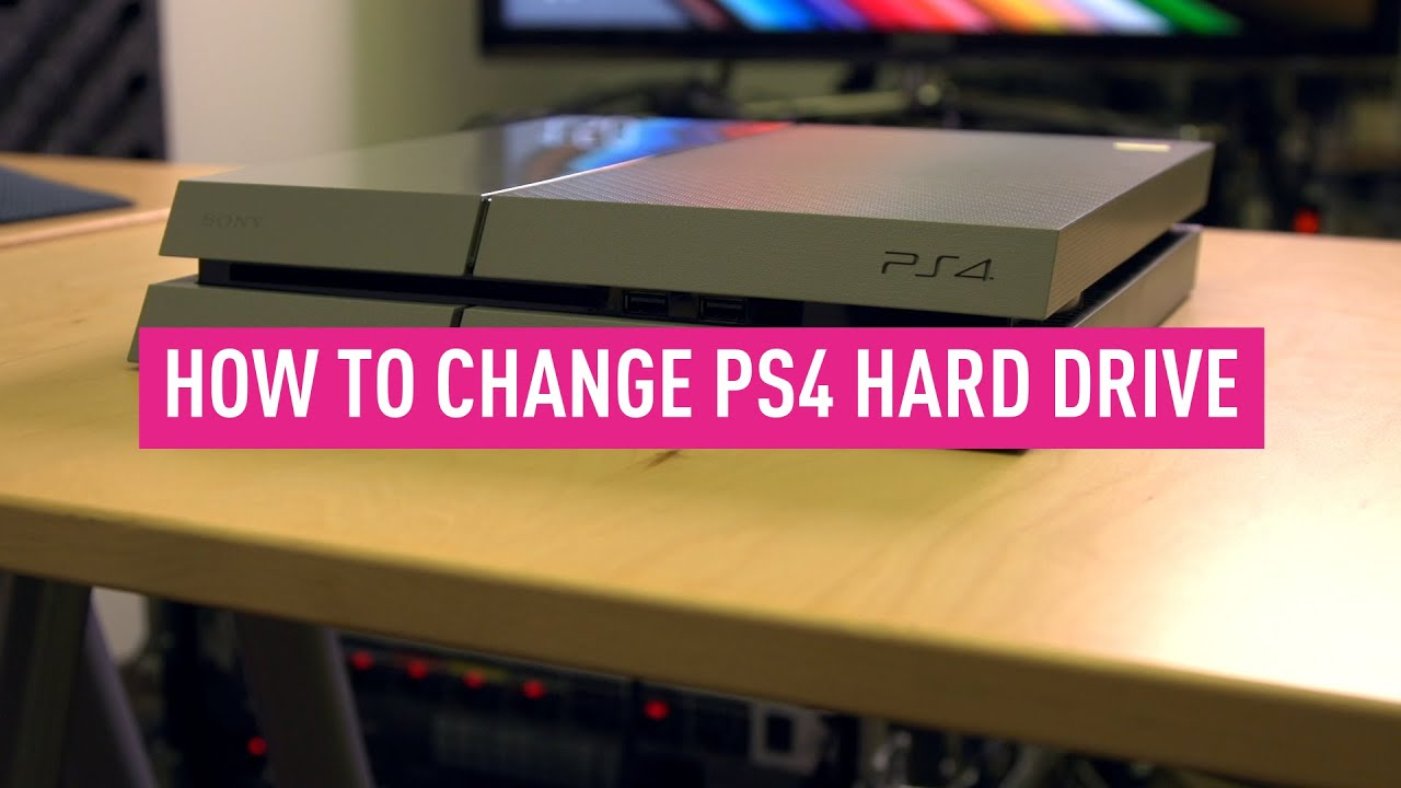 How to upgrade your PS4, PS4 Slim and PS4 Pro hard drive
