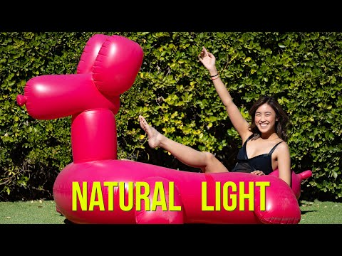 Natural And Available Light Portraiture - BTS