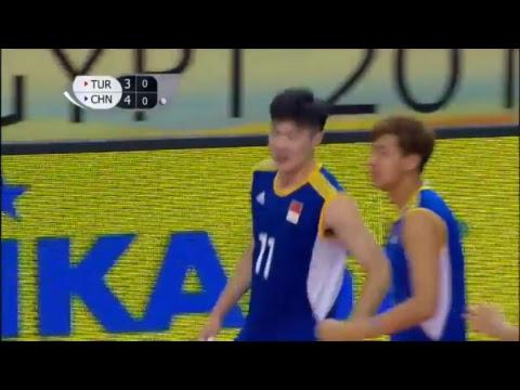 TUR vs CHN 2017 FIVB Men's U23 World Championship
