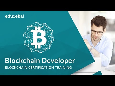 Blockchain Developer | How to Become a Blockchain Developer? | Blockchain Training | Edureka