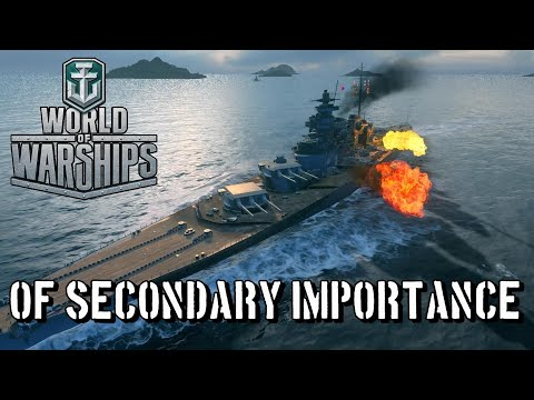 World of Warships - Of Secondary Importance