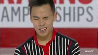 Nam Nguyen 2018 Canadian Tire National Skating Championships - FS (RDS)