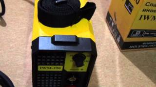 Сварочный аппарат инверторный EUROLUX IWM-250(Обзор сварочного аппарата EUROLUX IWM-250 Моя партнерка рекомендую! http://www.air.io/?page_id=1432&aff=1126 В контакте http://vk.com/rinat..., 2015-05-16T14:12:53.000Z)