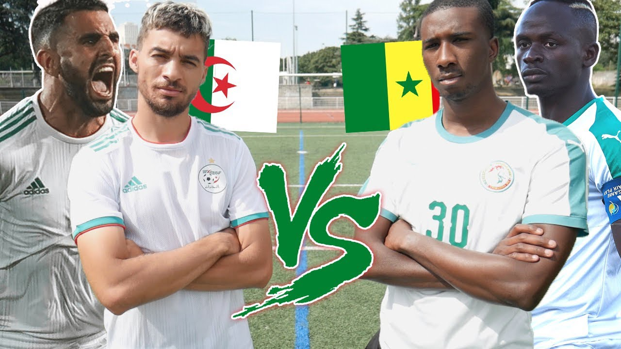 Algerien Vs Senegal